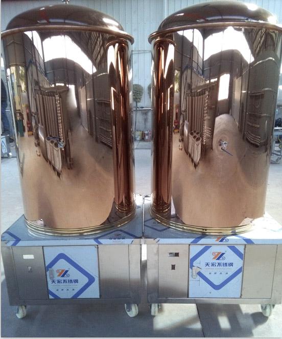 源鑫啤酒设备展示